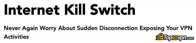 PureVPN отзывы: kill switch.